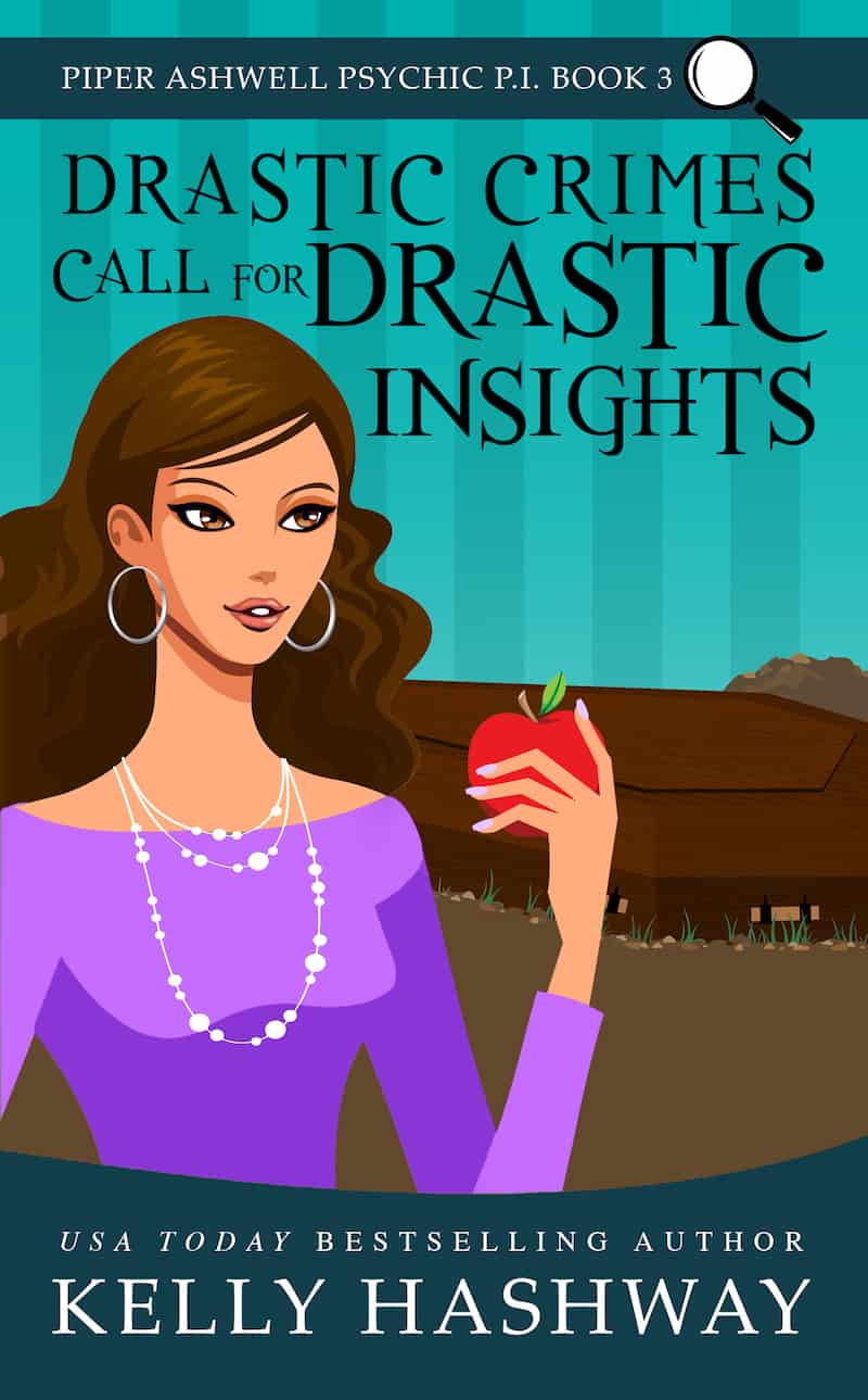 "Check out this fun psychic PI mystery, DRASTIC CRIMES CALL FOR DRASTIC INSIGHTS by Kelly Hashway. ""Not all clues lead in the same direction..."""
