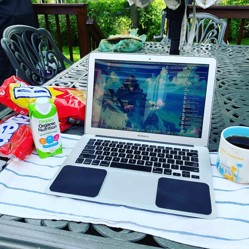 All the things that happened in the week ending June 2, 2019 including the beginning of pool season, writing, knitting, and shorter hair!