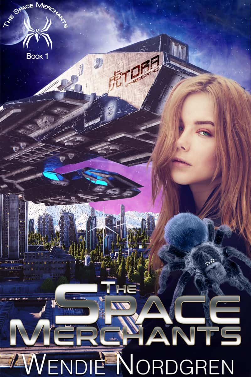 """Check out this reverse harem sci-fi romance, THE SPACE MERCHANTS by Wendie Nordgren. """"Teagan Green dreams of escaping the drudgery of Earth and traversing the stars..."""""""