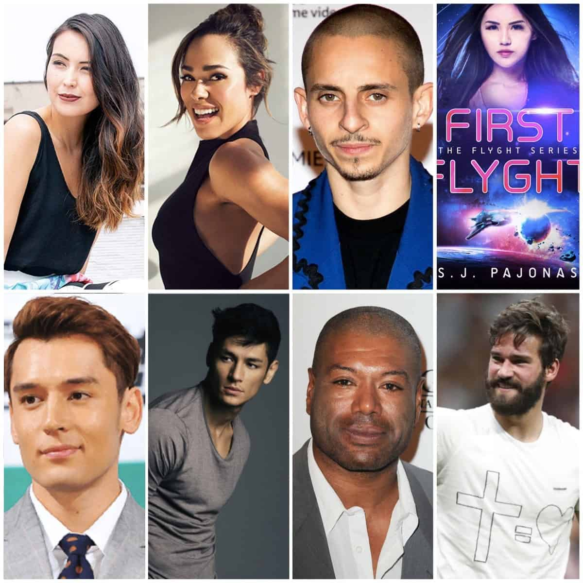 The actors, actresses, and celebrities that inspired me while writing The Flyght Series!