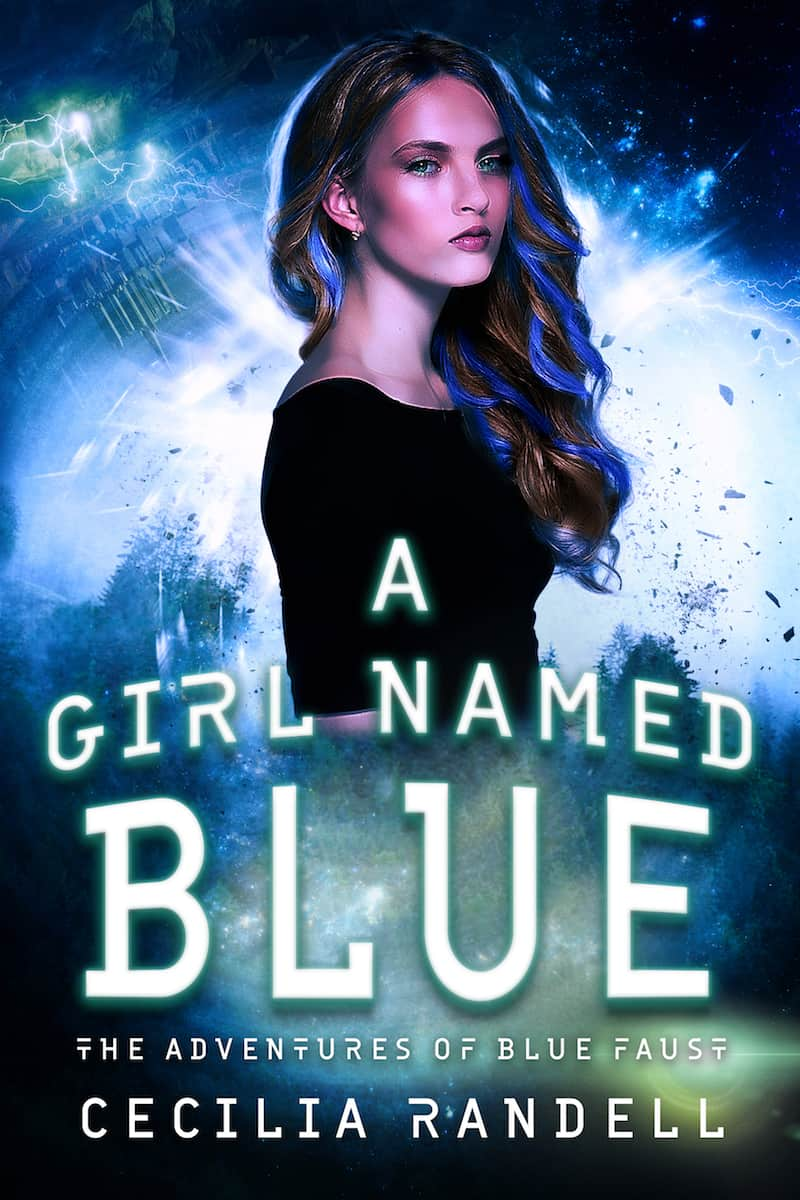 "Check out this sci-fi reverse harem romance, A GIRL NAMED BLUE by Cecilia Randell. ""An ordinary girl, thrown into extraordinary - and deadly - new worlds..."""