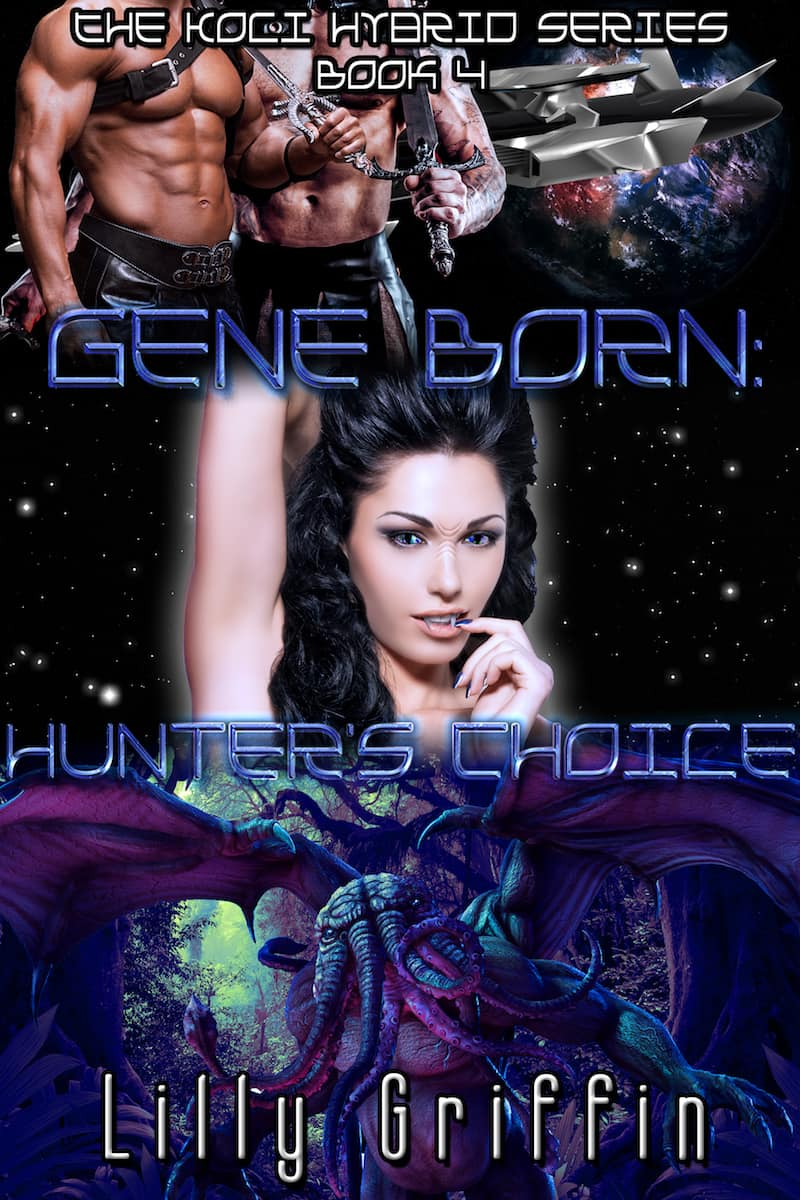 "Check out this reverse harem sci-fi romance, GENE BORN: HUNTER'S CHOICE by Lilly Griffin. ""The government used us to improve the human genome through gene modification and controlled us through a computer AI placed in our brains..."""