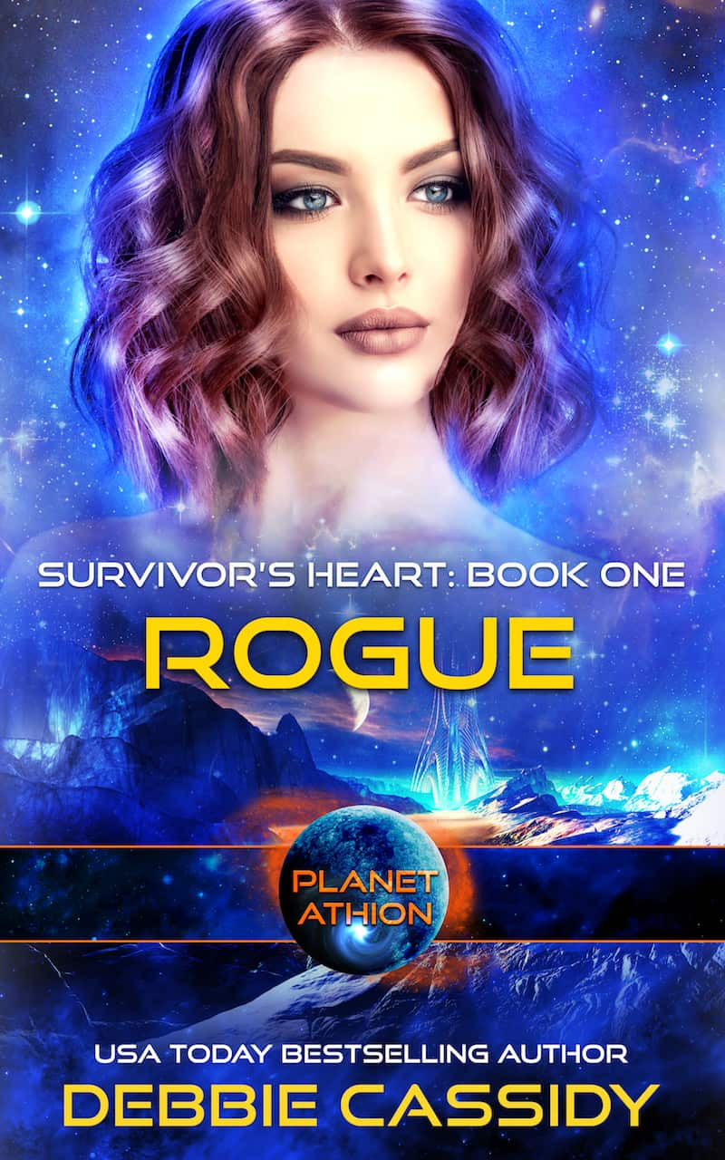 """Check out this reverse harem sci-fi romance, ROGUE by Debbie Cassidy. """"Each Victory is another day I get to continue breathing. Each Victory is a reprieve from Death..."""""""