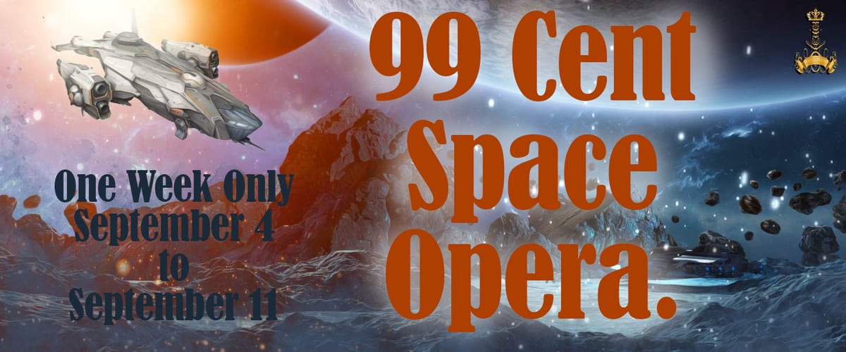 Lots of great space opera books on sale!
