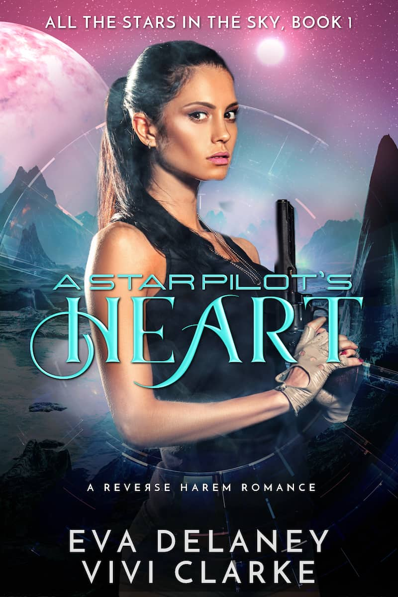 "Check out this reverse harem sci-fi romance, A STAR PILOT'S HEART by Eva Delaney. ""Can I complete my mission and save the galaxy with five alluring men tempting me every chance they get?"""