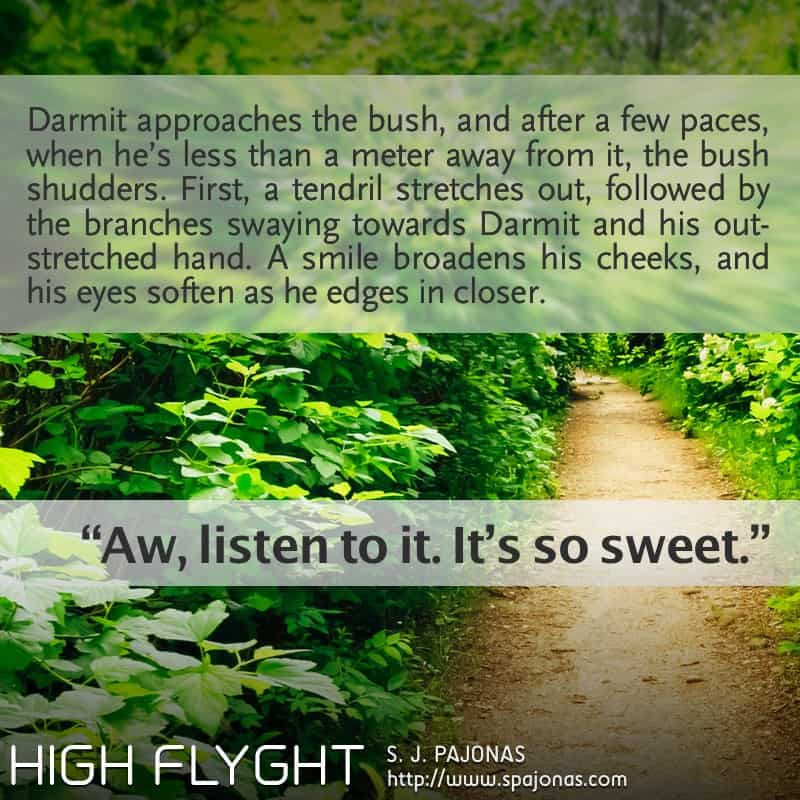 It's Teaser Tuesday for HIGH FLYGHT, the third book of the Flyght Series! Let's make a trip into the jungles of Rio...