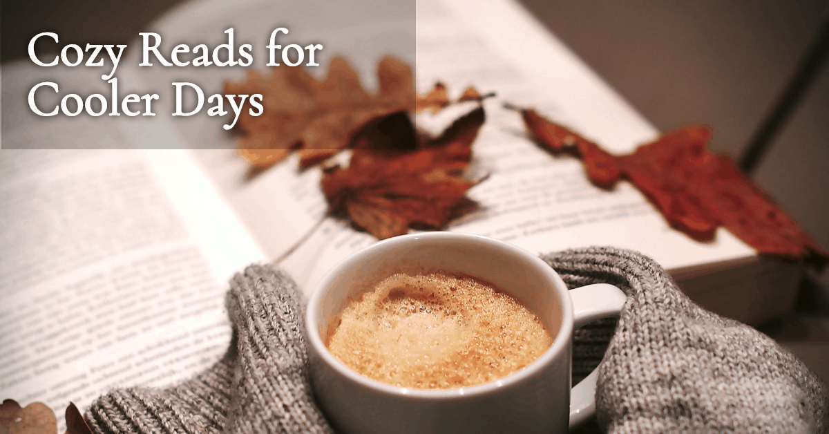 Looking for some new cozy mysteries? Check out this Cozy Reads for Cooler Days promotion.