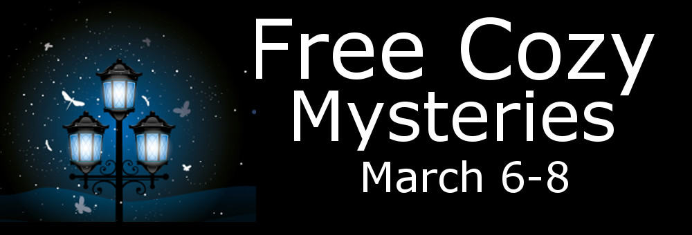 Check out these free cozy mysteries this weekend only!