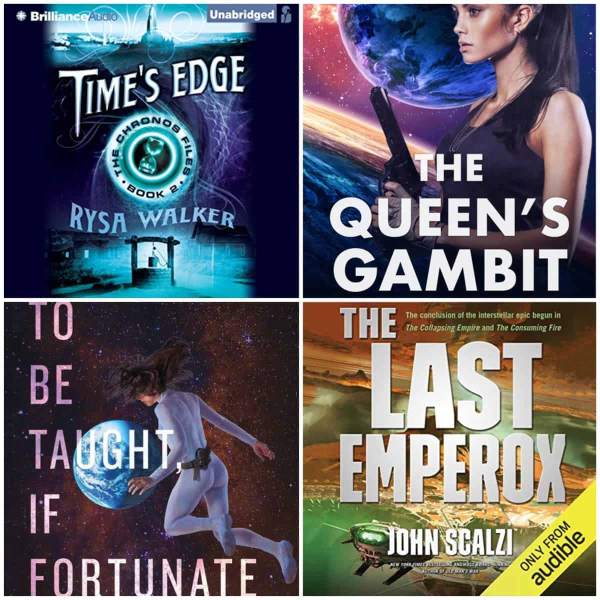 In this Book Chat, I have some sci-fi kindle reads I loved and two great audiobooks in series I've been enjoying.