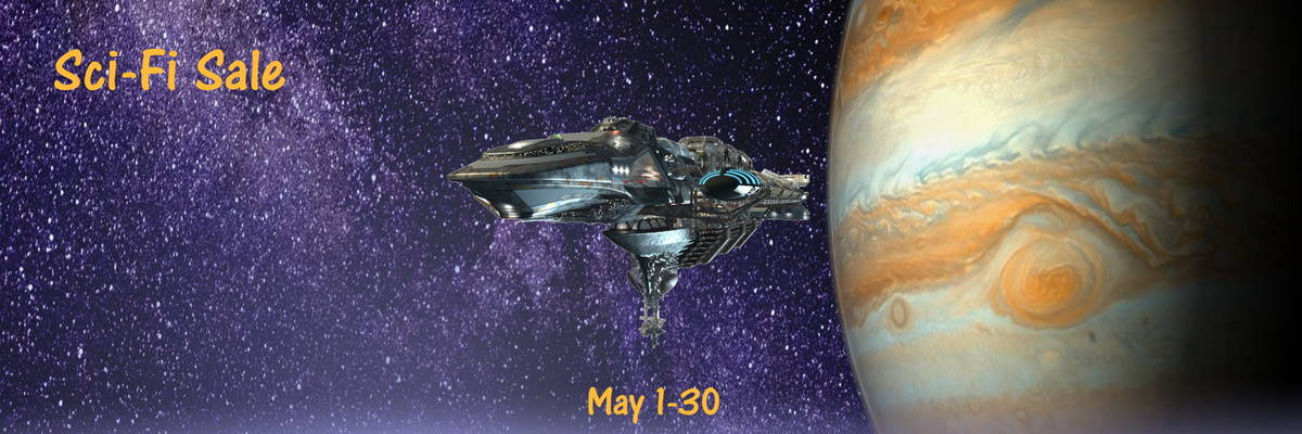 Find something new to read in this sci-fi sale! Ends May 31st.