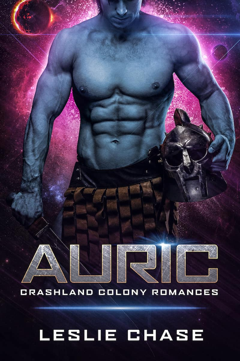 """Kicking off the Summer of SFR, we have Leslie Chase here to talk about her sci-fi romance, AURIC. """"Crashed on an unexplored planet, with only an alien warrior and a holographic cat for company… what's a girl to do?"""""""
