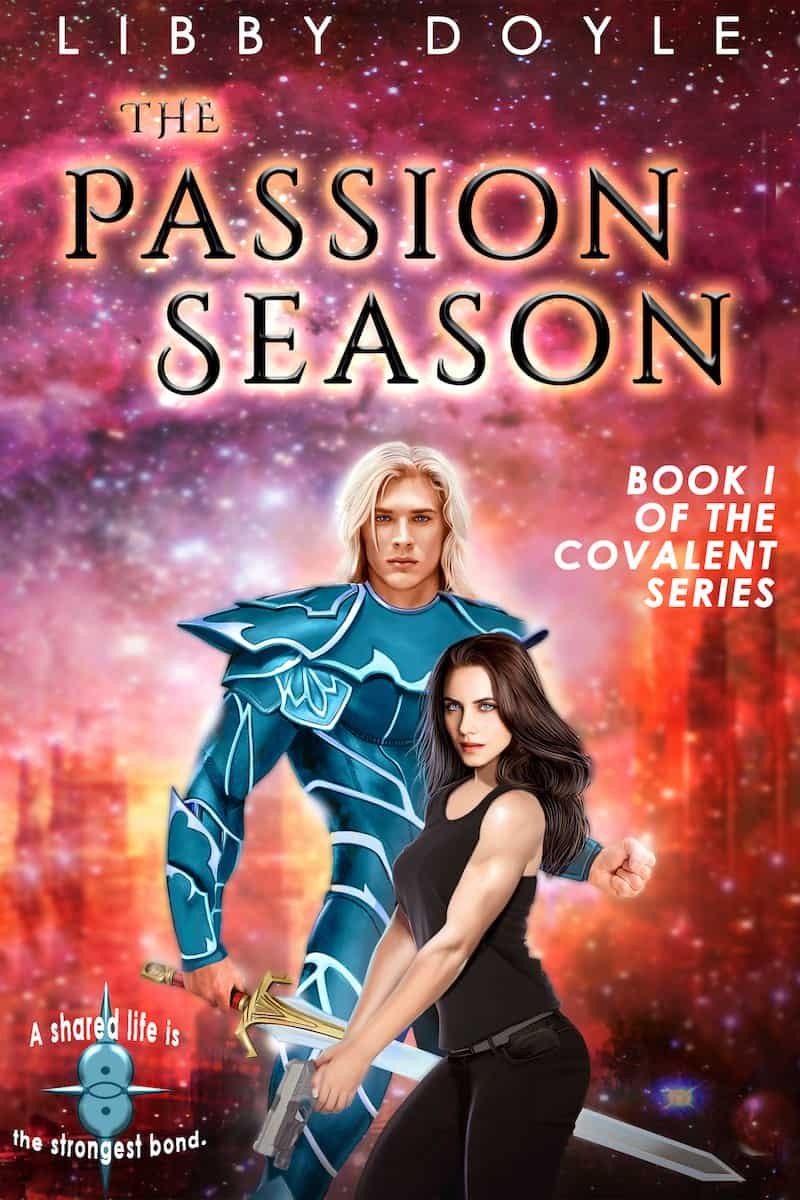 """It's the Summer of SFR, and Libby Doyle is here to talk about her sci-fi romance, THE PASSION SEASON. """"For centuries, Lucifer's son paid for the sins of his father. Now, he's had enough..."""""""