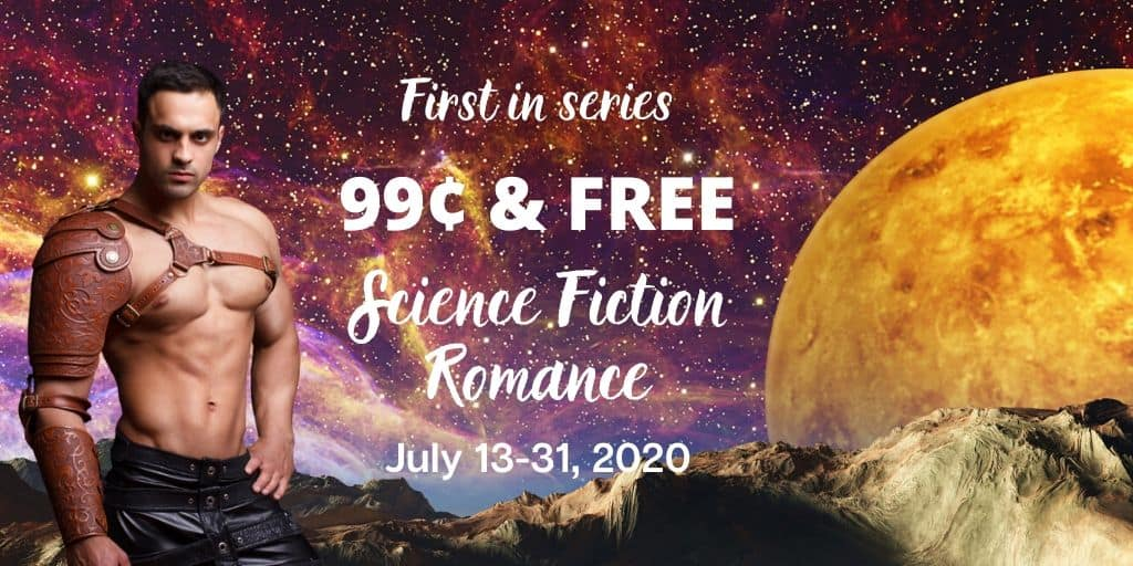 Find a new free or 99¢ scifi romance to read during the Summer of SFR!