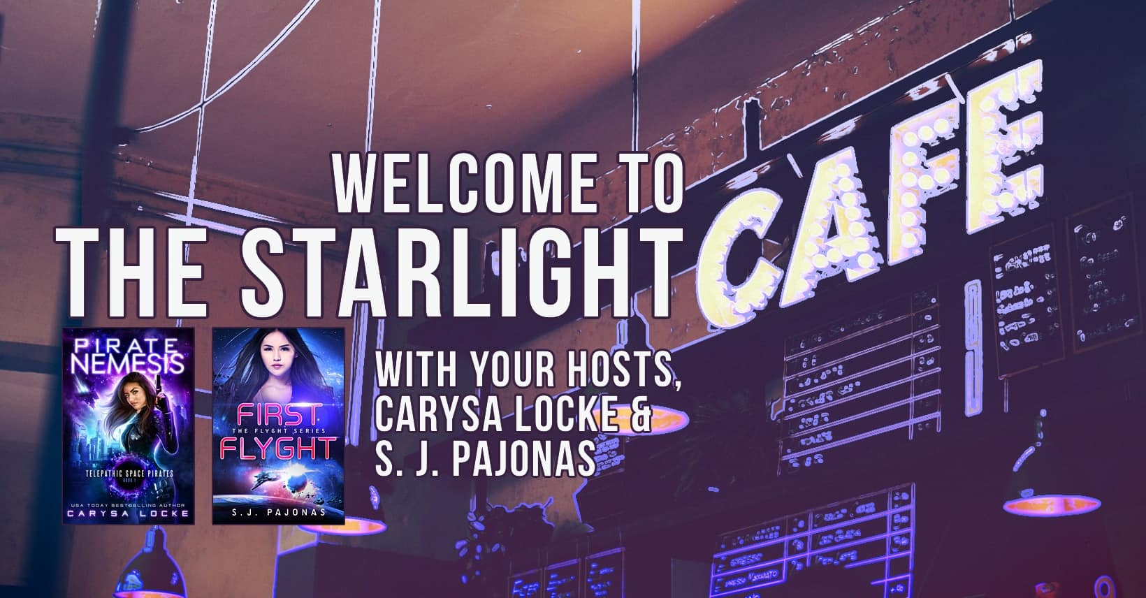 I have a new reader group I'm running with Carysa Locke on Facebook, The Starlight Cafe! Come be a part of the fun!
