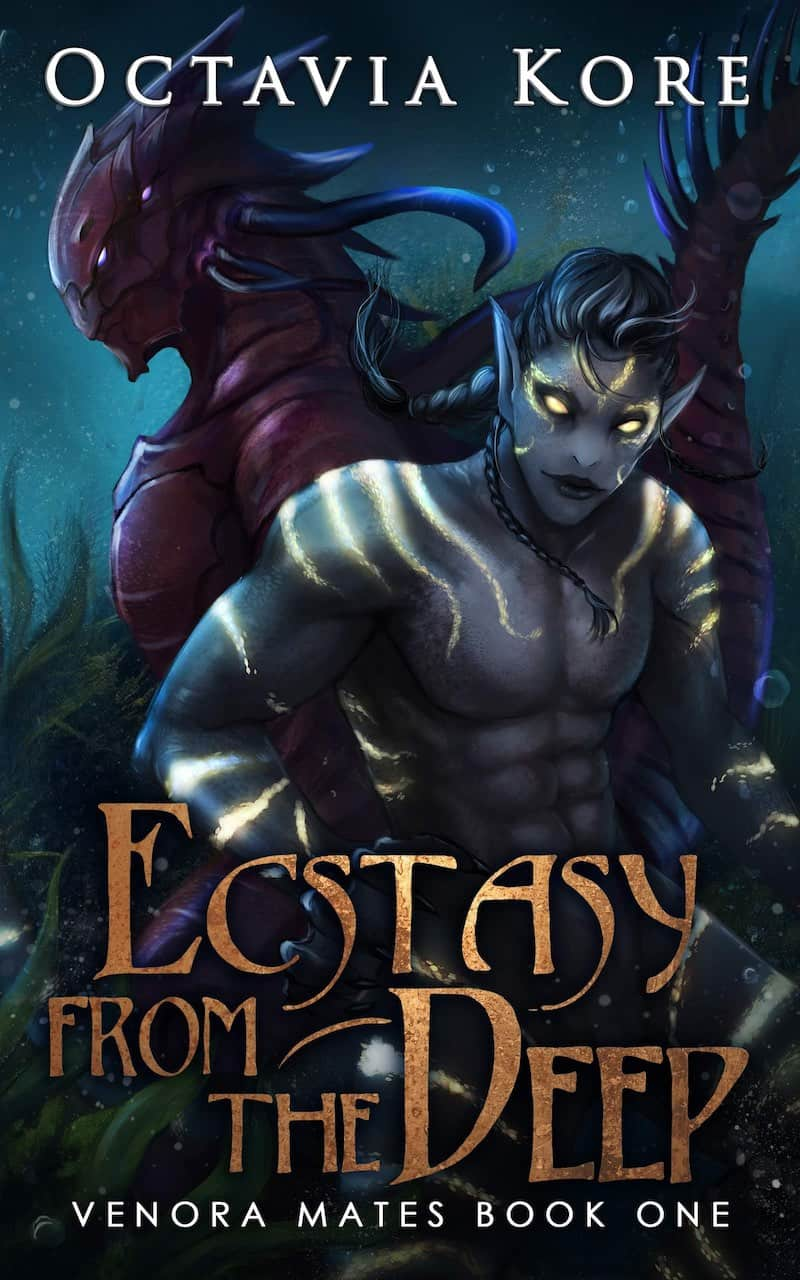 """It's the Summer of SFR, and Octavia Kore is here to talk about her sci-fi romance, ECSTASY FROM THE DEEP. """"An enticing savior, an old love, and one deranged alien hell-bent on destroying it all..."""""""