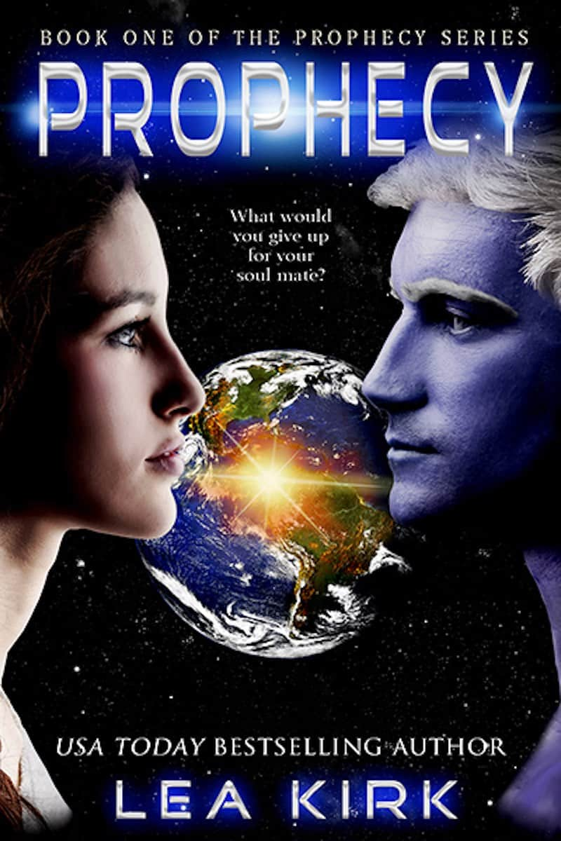 """It's the Summer of SFR, and Lea Kirk is here to talk about her sci-fi romance, PROPHECY. """"What would you give up for your soul mate?"""""""