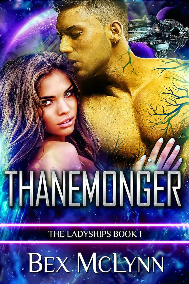 """It's the Summer of SFR, and Bex McLyn is here to talk about her sci-fi romance, THANEMONGER. """"If she wanted to survive her alien abduction, then she needed to kick some alien butt..."""""""